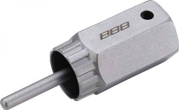 """BBB LockPlug Zahnkranzverschraubung Nuss BTL-108C mit 1/2"""" Vierkant Aufnahme, Campagnolo"""