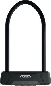Schwarzes Bügelschloss der Marke ABUS von Bike Online