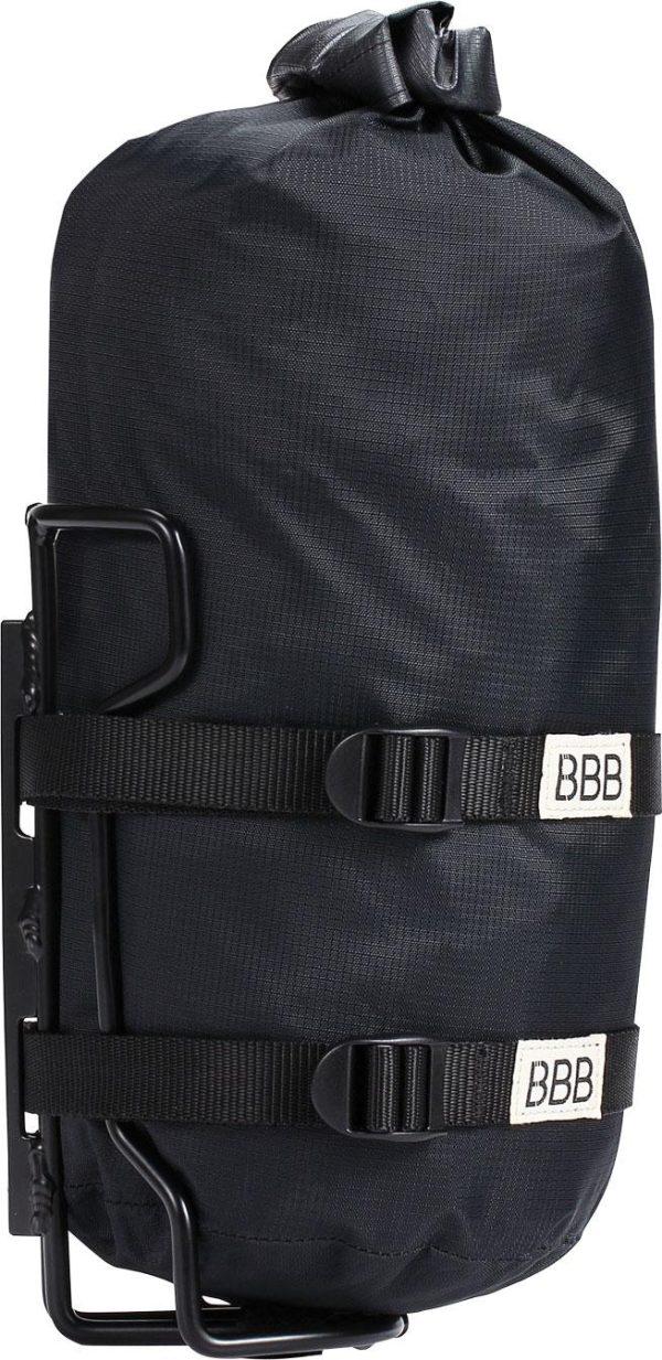 StackPack Drybag Set mit Gepäckhhalter, BSB-145 4 l, schwarz